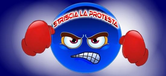 STRISCIA LA PROTESTA